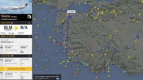 Yunan medyasından çok tartışılacak iddia: Erdoğan'ın uçağı takip edilmedi