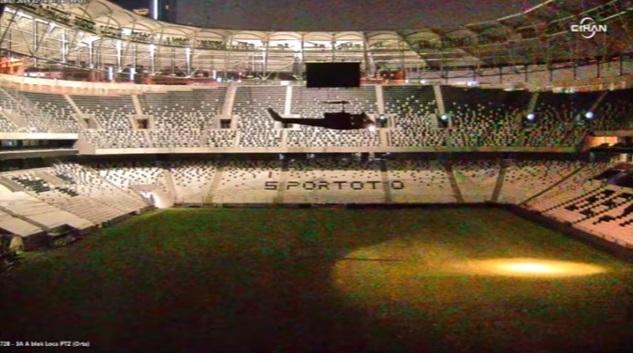 VİDEO | Darbeciler Vodafone Arena'ya böyle indi