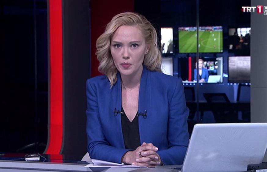 TRT ekranlarında ilk bildiri