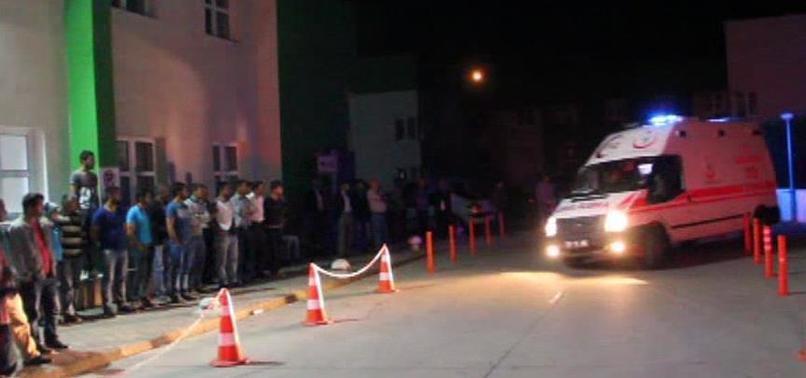 Giresun'da polis aracına silahlı saldırı
