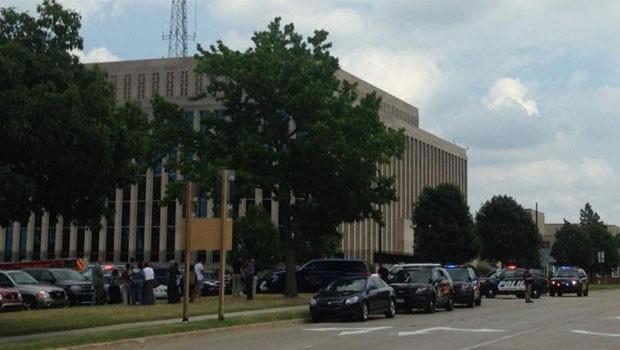 ABD'de mahkeme binasına saldırı
