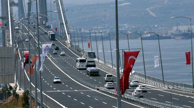 Osmangazi Köprüsü'nün 89 liralık geçiş ücretine dava