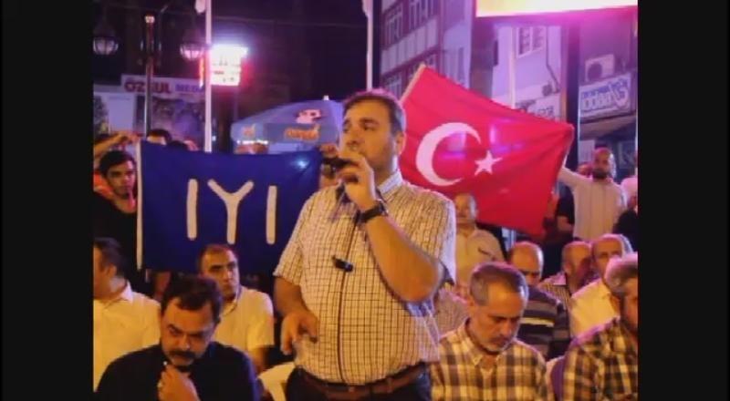 Hatay'daki provokatöre imama tepki