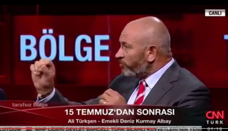 E. Deniz Kurmay Albay Ali Türkşen: Darbeyi, Balyoz ve Poyrazköy komutanları durdurdu
