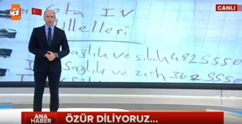 VİDEO | ATV o 'özel' haber için özür diledi