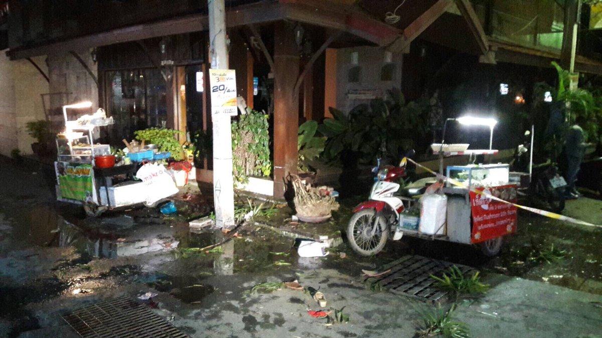 Tayland'da patlama: Çok sayıda yaralı