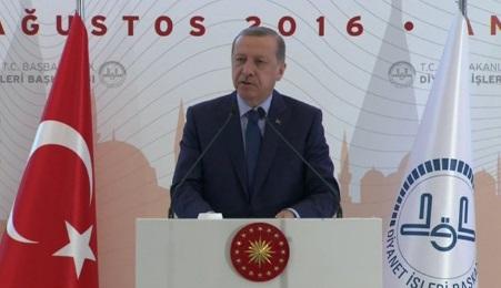 Erdoğan'dan'FETÖ'ye destek itirafı
