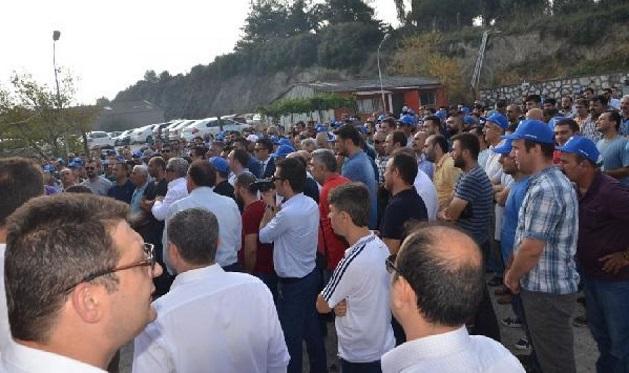 Gemlik Gübre'de 335 işçi greve çıktı!
