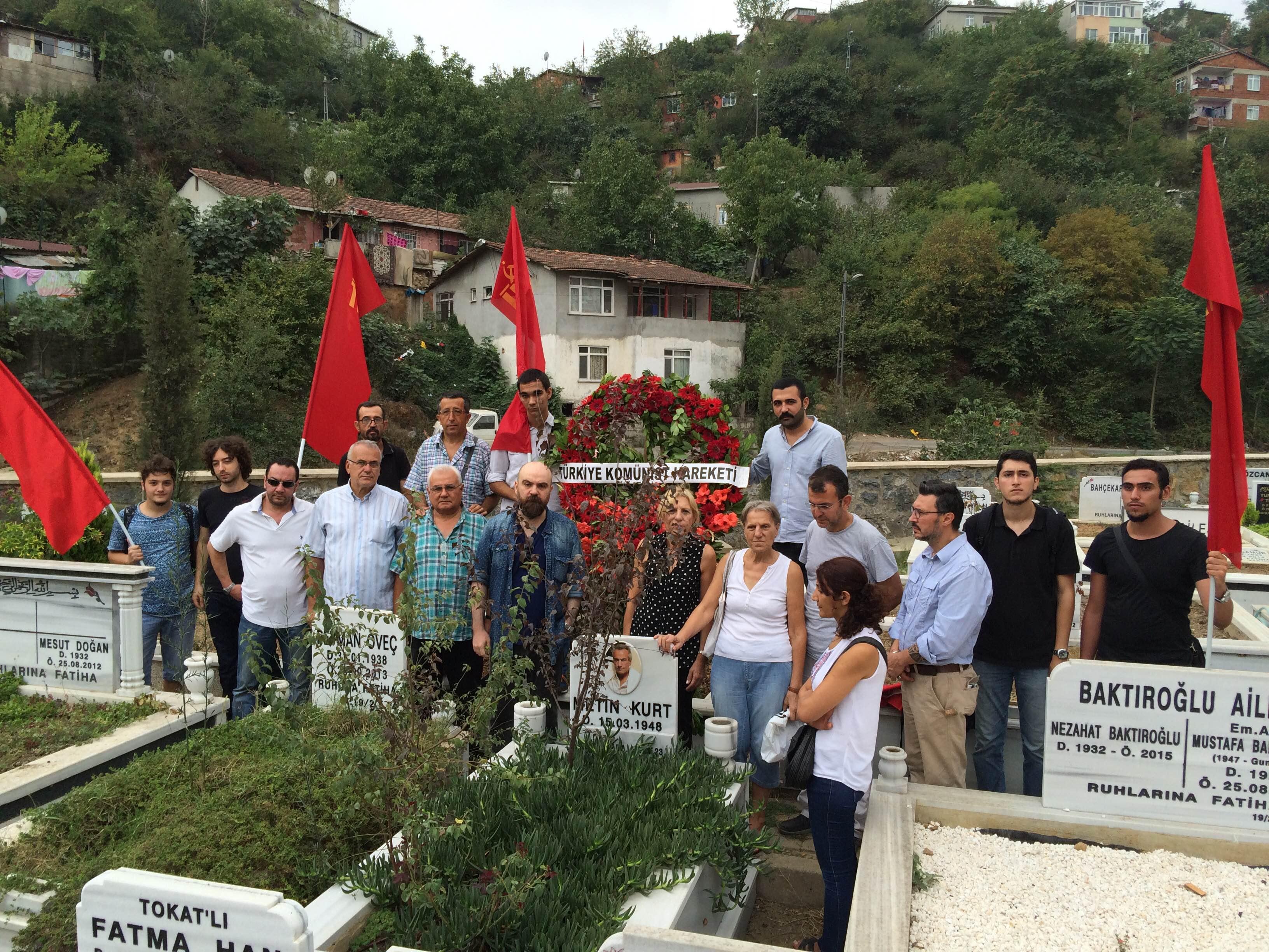 Türkiye Komünist Hareketi'nden Metin Kurt anması