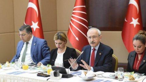 Kılıçdaroğlu: Suriye'ye silah sevkiyatı devam ediyor