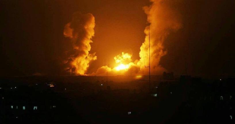 Gazze'ye son iki yılın en büyük saldırısı