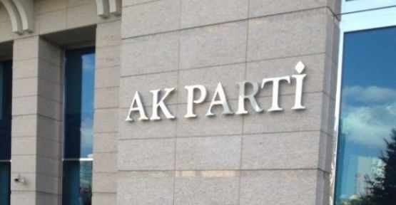 AKP binalarında 'yiyecek içecek' yasağı