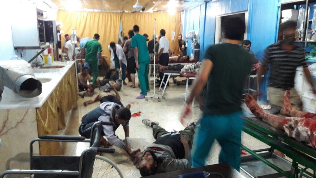 Türkiye-Suriye sınırında intihar saldırısı: 35 ÖSO'cu öldü