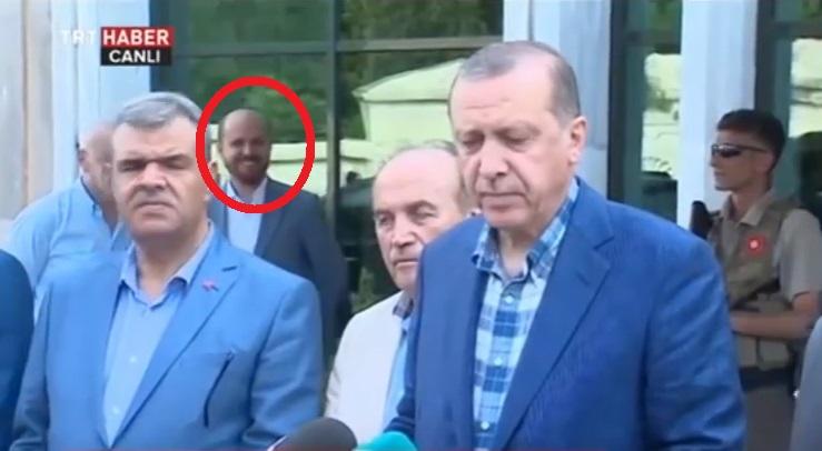 VİDEO | Erdoğan katliamı anlatırken Bilal Erdoğan gülüyordu