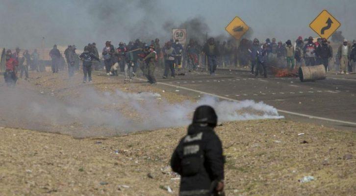 Bolivya'da madenciler tutuklandı