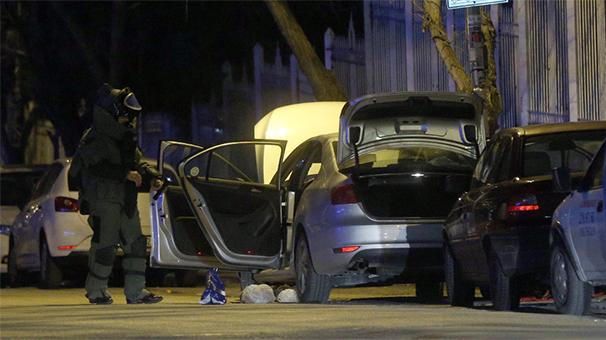 Gaziantep'te bombalı araç alarmı