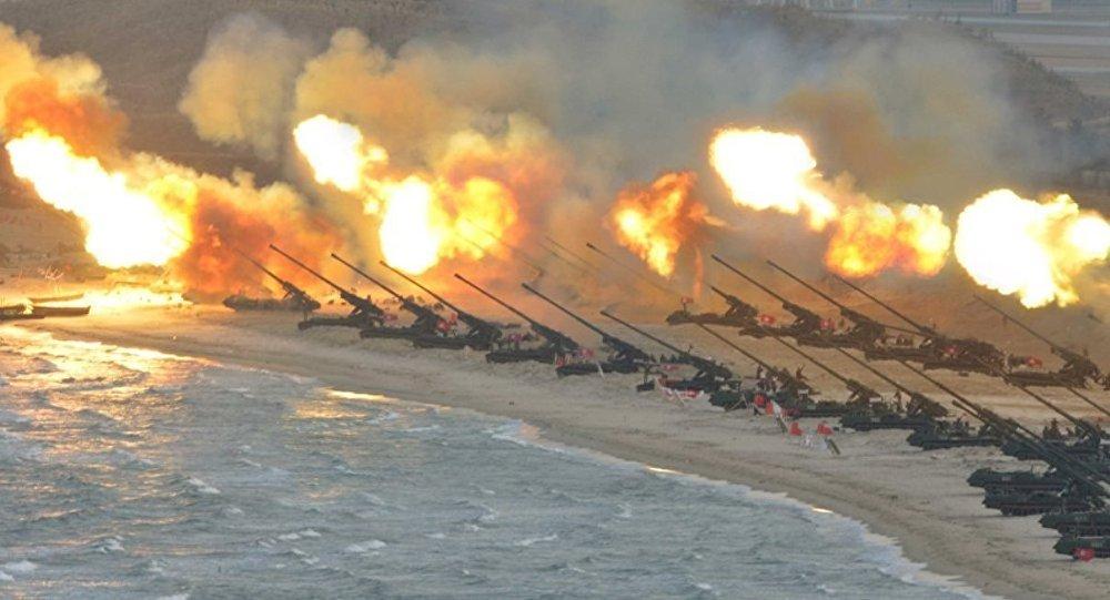 Güney Kore'den KDHC sınırında provokasyon