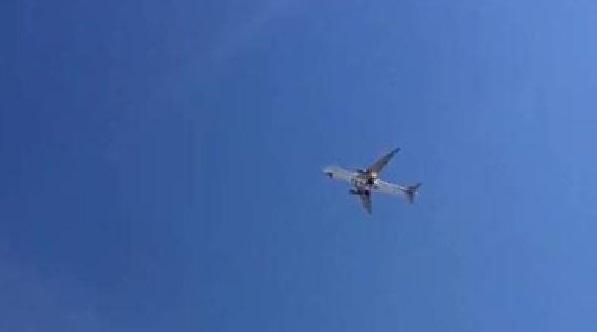 VİDEO | Yolcu uçağı alev aldı, Atatürk Havalimanı'na acil iniş yaptı