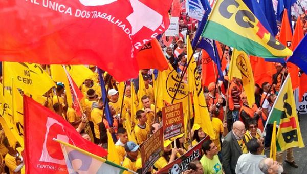 Brezilya'da işçiler