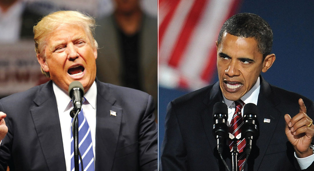Trump, Obama'ya cevap verdi