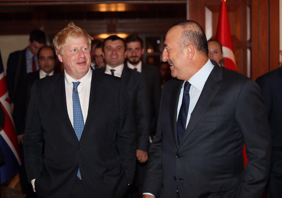 Ali Kemal'in torunu İngiliz Bakan'dan Çavuşoğlu'na: Büyük amcam sizinle aynı işi yapıyordu