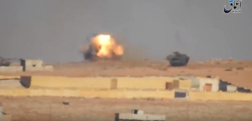 VİDEO | IŞİD'in 2 Türk tankını vurduğu görüntüler ortaya çıktı