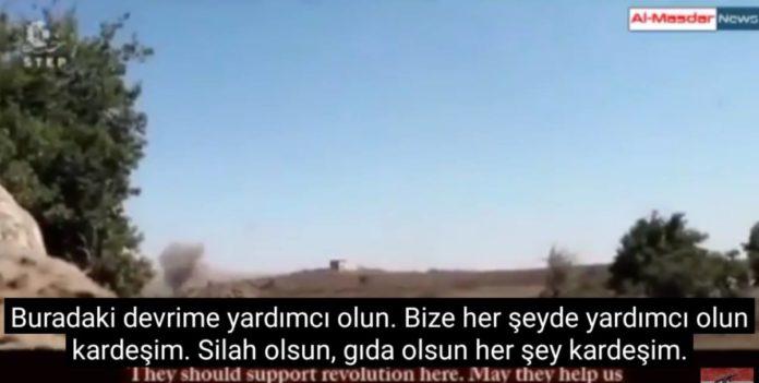 VİDEO | AKP'nin cihatçıları İsrail'den yardım istedi