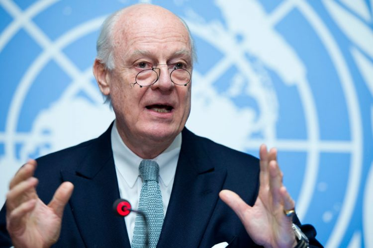 BM Suriye Özel Temsilcisi Mistura, Ankara'da