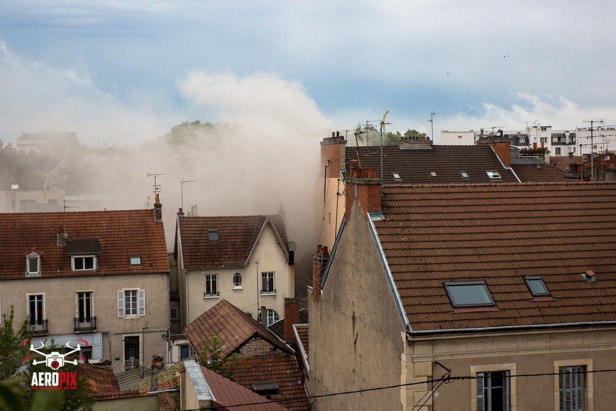Fransa'nın Dijon kentinde patlama!
