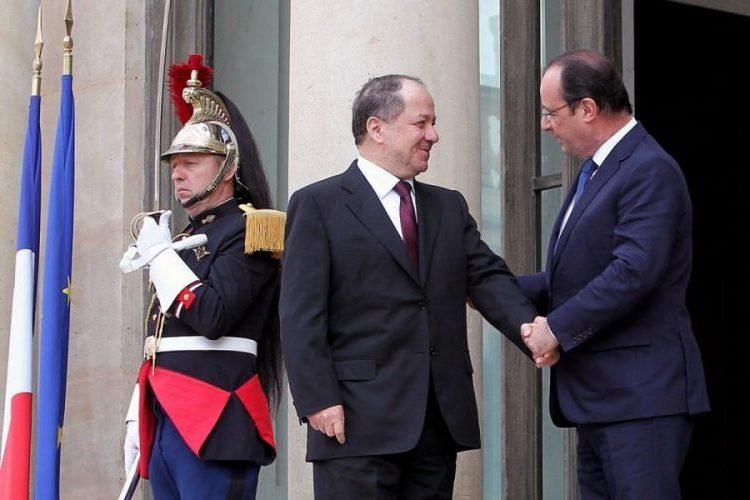 Barzani Fransa'dan