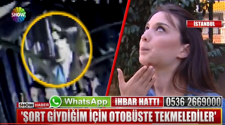 VİDEO | Genç hemşire şort giydi diye belediye otobüsünde saldırıya uğradı!