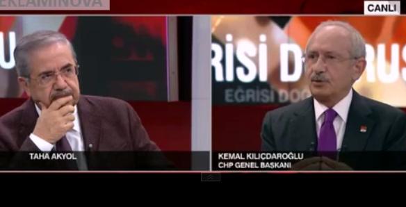Kılıçdaroğlu'ndan, Ilıcak ve Bulaç övgüsü, Altan kardeşlerin tutuklanmasına