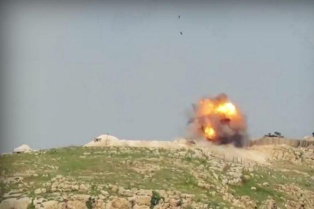 IŞİD Türk tankını vurdu: Yaralı askerler var