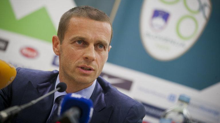Avrupa futbolunun yeni başkanı konuştu