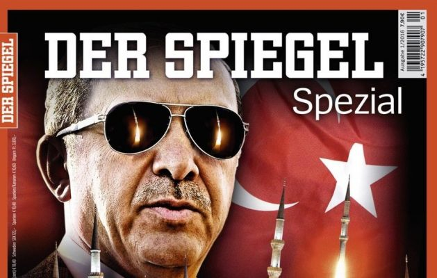 Der Spiegel'den ilginç Erdoğan kapağı