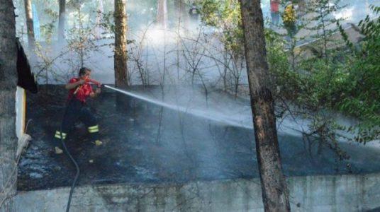 Dicle Üniversitesi'nde yangın!