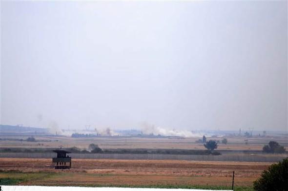 TSK tankları cihatçı çeteleri kurtarmak için El Rai'de