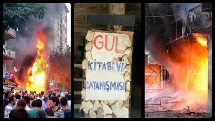 Gül Kitabevi yangını ya da Türkiye'de 'Dünya Kitap Okuma Günü'nü nasıl bilirsiniz?