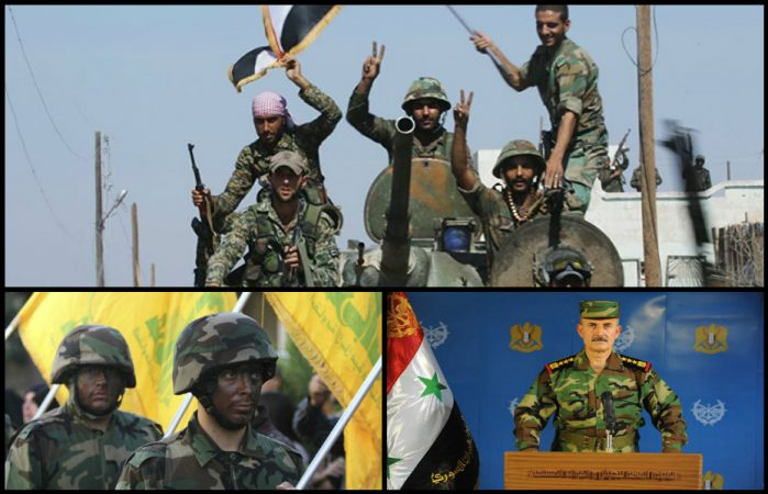 Suriye Ordusu ve Hizbullah'tan Halep'in merkezinde büyük taarruz