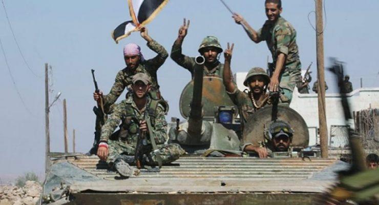 VİDEO | Suriye Ordusu Halep'te ilerliyor