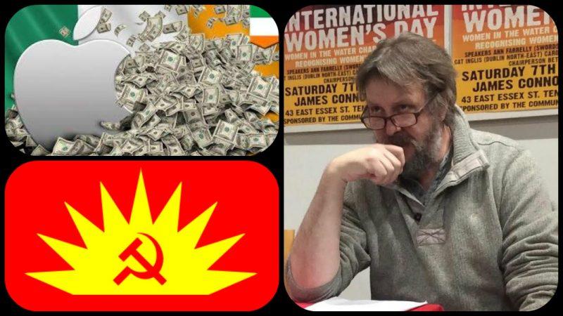 İKP'den Eoghan O'Neill İrlanda'daki Apple krizini ve kapitalist sömürüyü Manifesto'ya anlattı