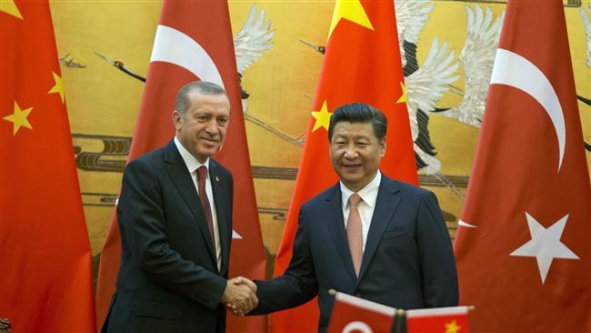 Erdoğan ve Jinping buluştu