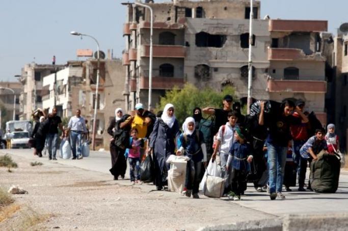 Darayya'dan sonra Madamiye'deki cihatçılar da teslim oldu