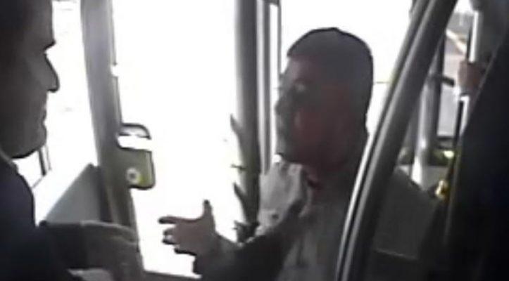 Metrobüs'te şoföre şemsiye ile saldıran kişi tutuklandı!