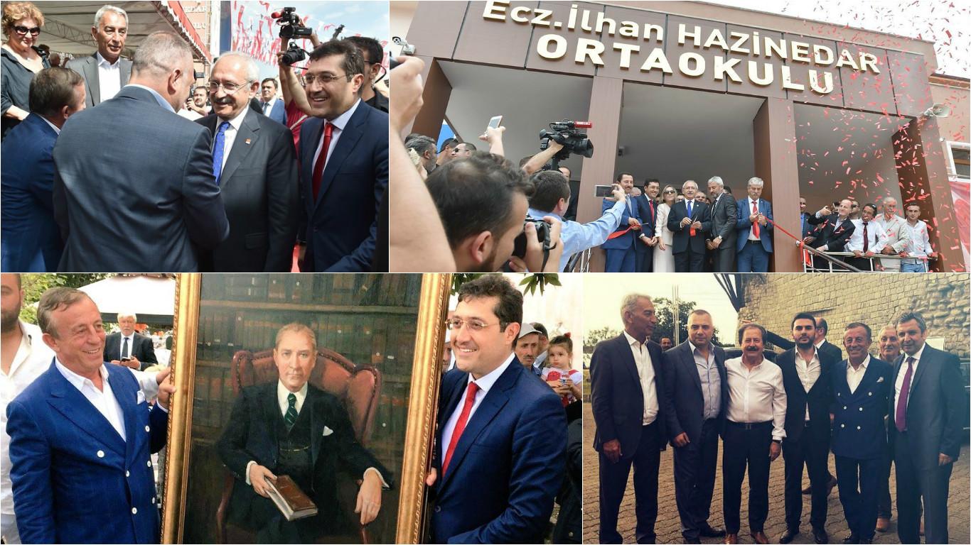 'Milli mutabakat' bu açılışta sağlandı: Ağaoğlu, Kılıçdaroğlu, DİSK Başkanı, Hazinedar...