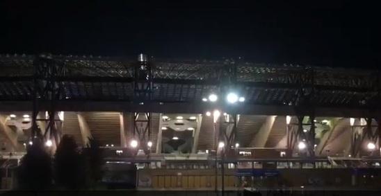 VİDEO | Napoli taraftarının sesi depreme neden oldu