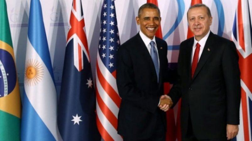 Çin'de Obama Erdoğan görüşmesi iki tarafın birbirine teşekkürü ile sonuçlandı