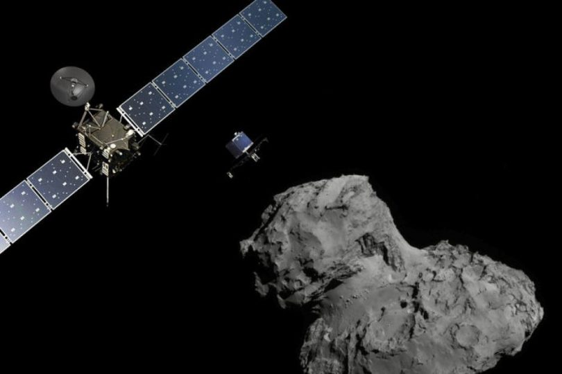 Uzay aracı Rosetta görevini tamamladı