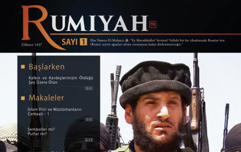 IŞİD'den'Rumiyah' isimli dergi