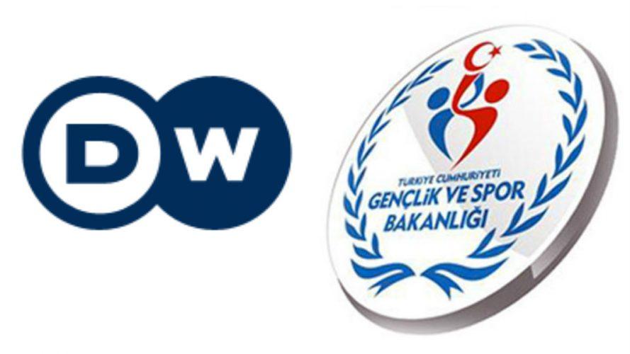 Spor Bakanlığı'ndan Deutsche Welle'ye yalanlama